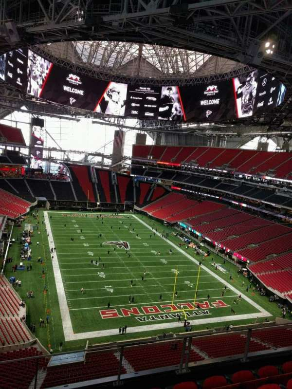 Mercedes-Benz Stadium, section: 328, row: 10, seat: 11
