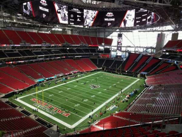Mercedes-Benz Stadium, section: 320, row: 16, seat: 13
