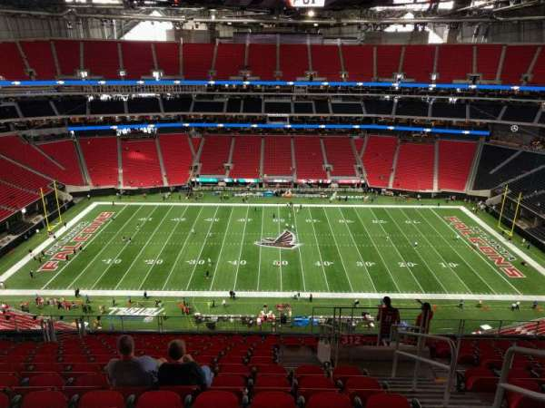 Mercedes-Benz Stadium, section: 312, row: 14, seat: 3