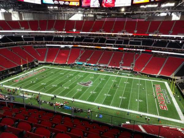 Mercedes-Benz Stadium, section: 309, row: 8, seat: 12