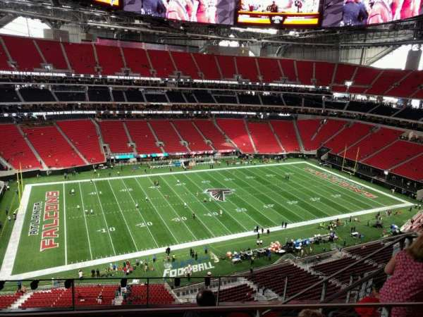 Mercedes-Benz Stadium, section: 343, row: 6, seat: 8