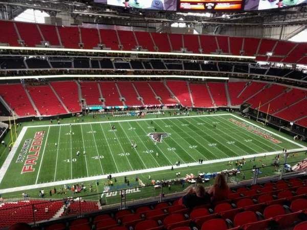Mercedes-Benz Stadium, section: 343, row: 7, seat: 11