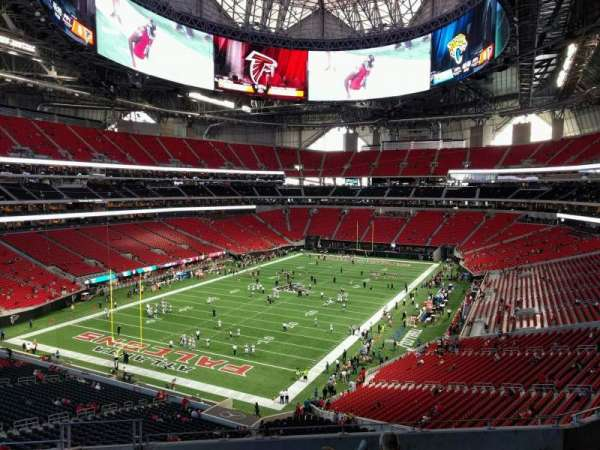 Mercedes-Benz Stadium, section: 246, row: 9, seat: 20