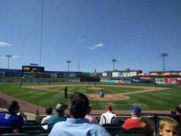 Clipper Magazine Stadium, section: 16, row: h, seat: 3