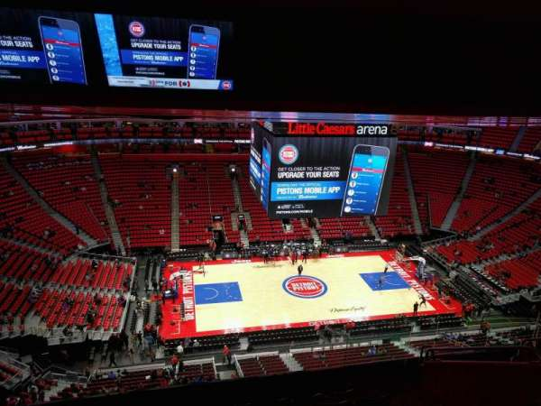 Little Caesars Arena, section: 213, row: 8, seat: 8