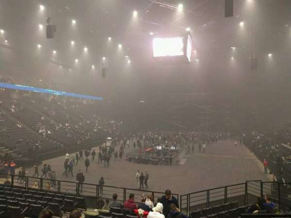 AccorHotels Arena, section: A, row: 13, seat: 16