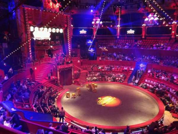 Cirque d'hiver, section: C, row: D, seat: 49