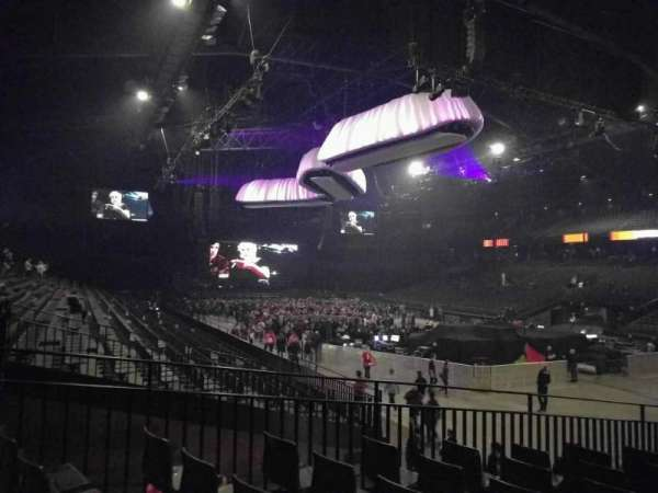 Sportpaleis, section: 141, row: 23, seat: 2