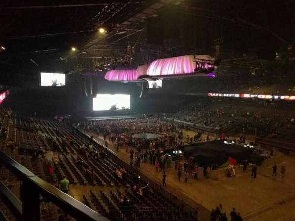 Sportpaleis, section: 239, row: 1, seat: 1