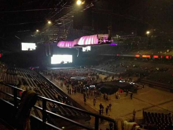 Sportpaleis, section: 238, row: 2, seat: 8
