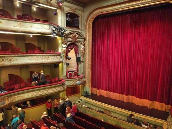 Théâtre Royal du Parc, section: Troisième Balcon, row: a, seat: 6
