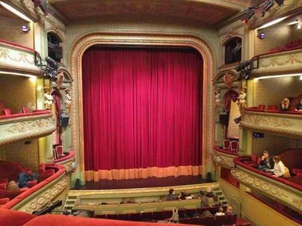 Théâtre Royal du Parc, section: Troisième Balcon, row: b, seat: 43