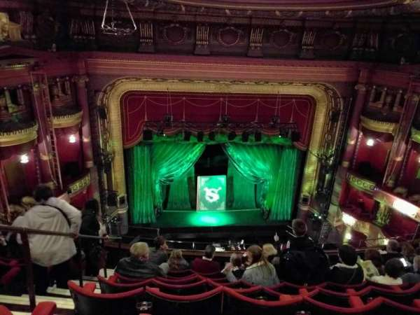 Palace Theatre (Manchester), section: grand tier, row: j, seat: 32