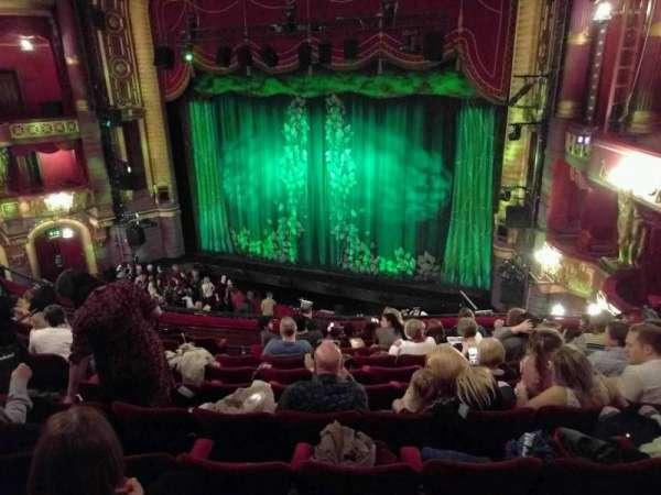 Palace Theatre (Manchester), section: circle, row: k, seat: 9