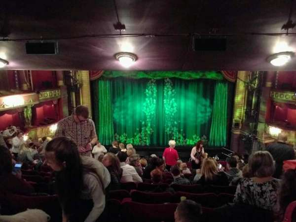 Palace Theatre (Manchester), section: circle, row: o, seat: 25