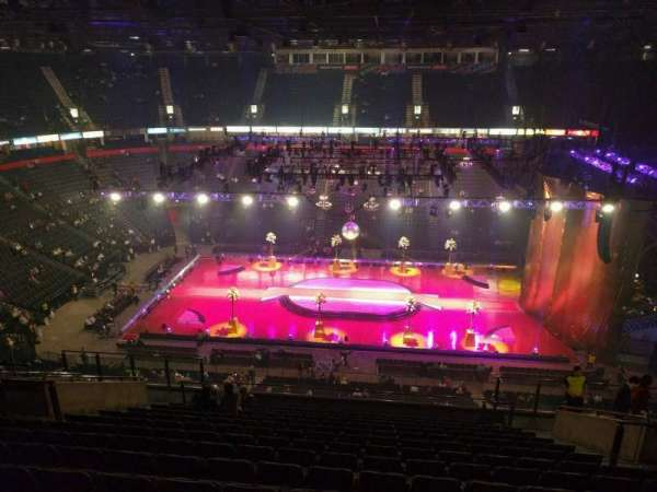 AO Arena, section: 214, row: p, seat: 13