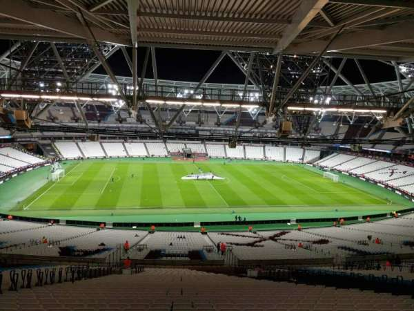 London Stadium, section: 206, row: 70, seat: 481
