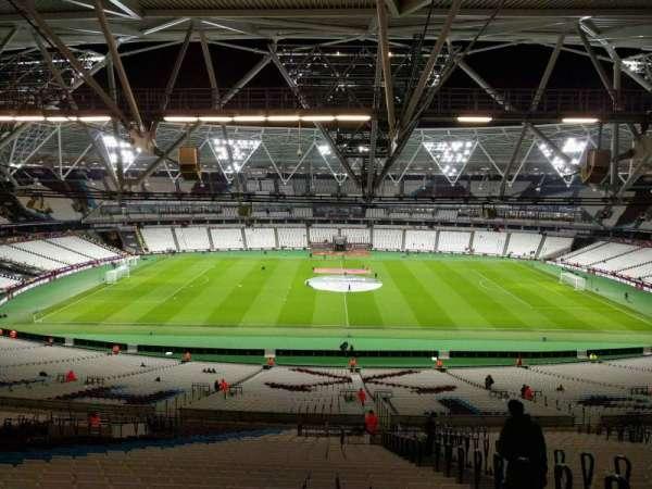 London Stadium, section: 236, row: 62, seat: 419