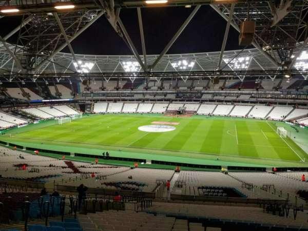 London Stadium, section: 238, row: 58, seat: 358