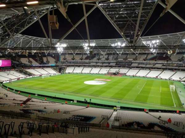 London Stadium, section: 239, row: 56, seat: 326