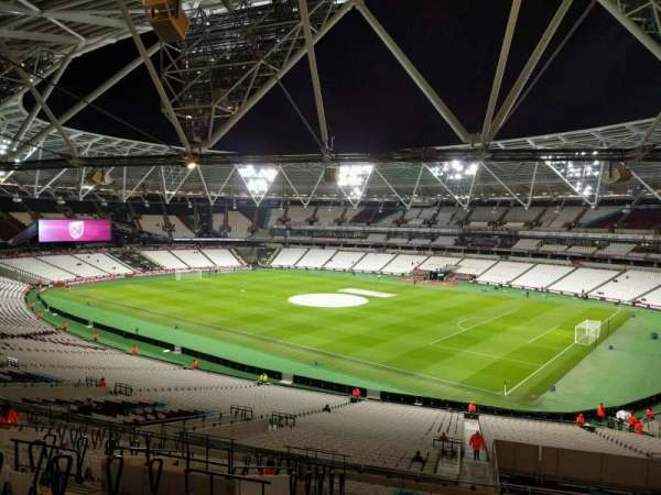 London Stadium, section: 241, row: 52, seat: 263