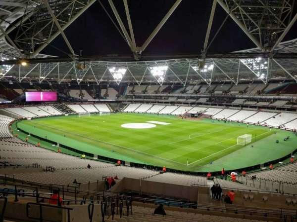 London Stadium, section: 242, row: 50, seat: 230