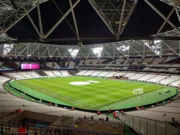 London Stadium, section: 243, row: 48, seat: 199