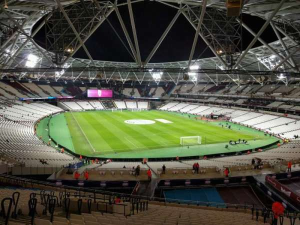 London Stadium, section: 246, row: 55, seat: 108