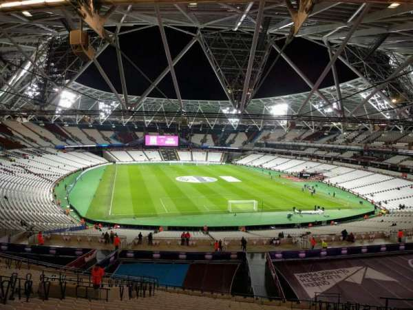 London Stadium, section: 248, row: 57, seat: 72