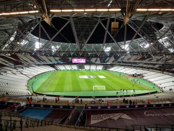 London Stadium, section: 249, row: 59, seat: 42