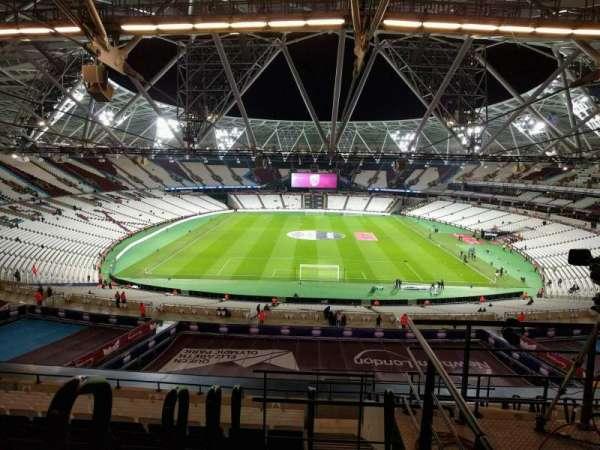 London Stadium, section: 250, row: 61, seat: 003