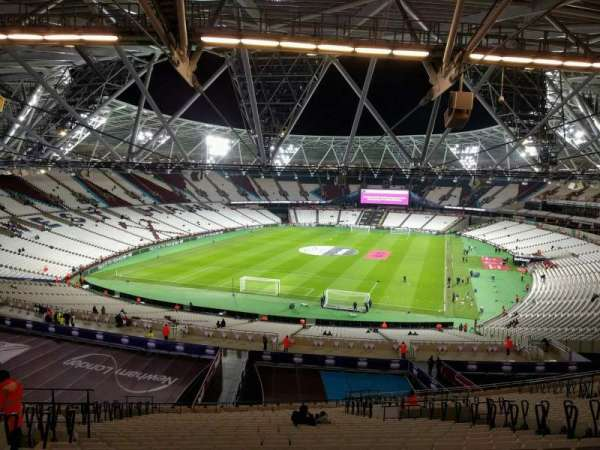 London Stadium, section: 252, row: 61, seat: 790