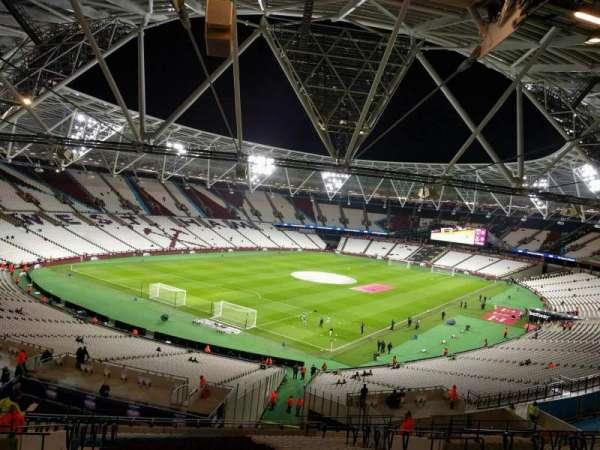 London Stadium, section: 255, row: 55, seat: 697