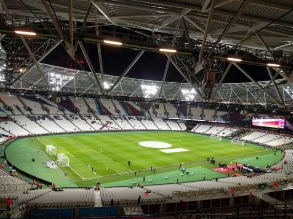 London Stadium, section: 203, row: 61, seat: 601