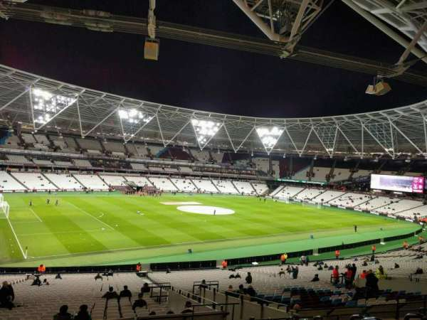 London Stadium, section: 231, row: 40, seat: 574