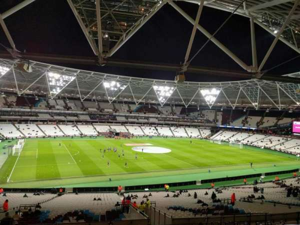 London Stadium, section: 232, row: 48, seat: 541
