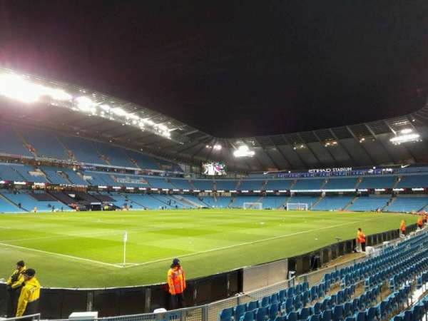 Etihad Stadium (Manchester), section: 111, row: k, seat: 263