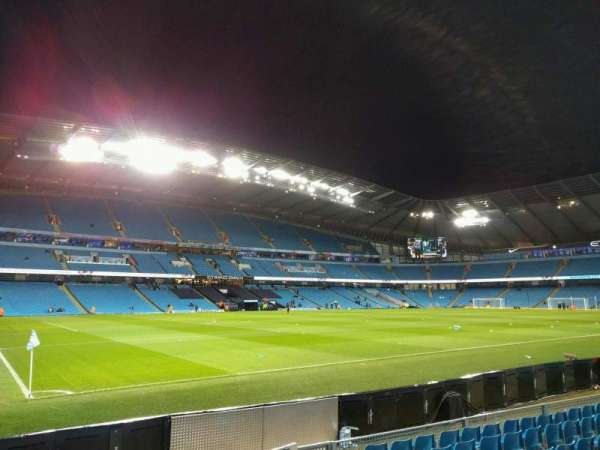 Etihad Stadium (Manchester), section: 110, row: g, seat: 230