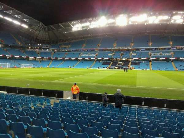 Etihad Stadium (Manchester), section: 104, row: l, seat: 81