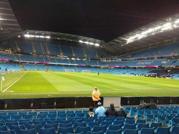 Etihad Stadium (Manchester), section: 139, row: k, seat: 1096