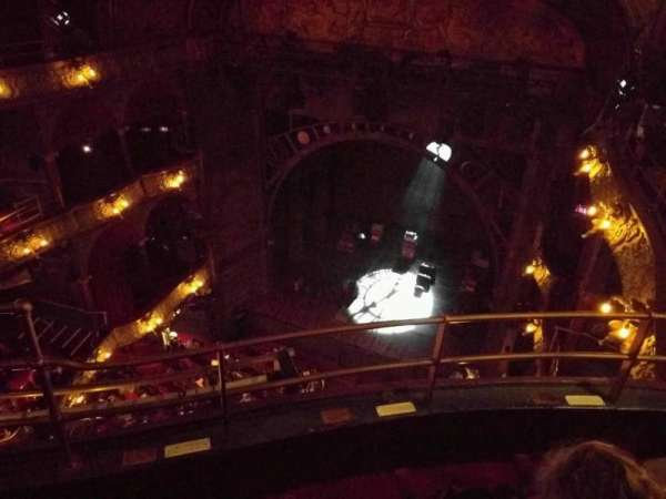Palace Theatre (West End), section: Balcony, row: C, seat: 5