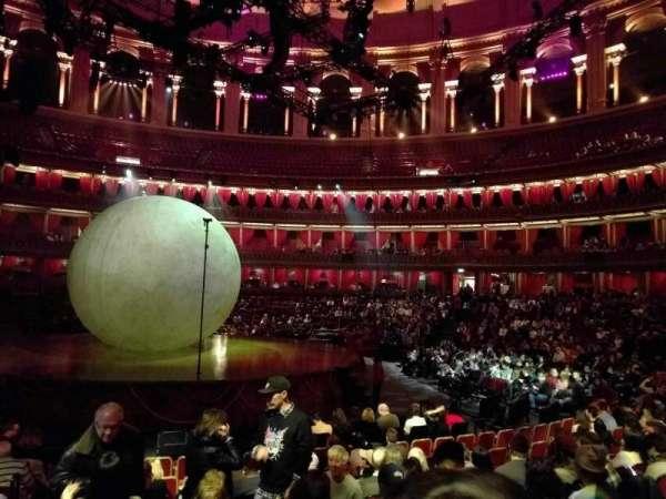 Royal Albert Hall, section: Stalls H, row: 11, seat: 33