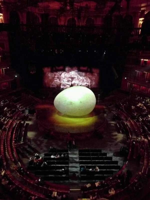 Royal Albert Hall, section: Circle T, row: 1, seat: 106