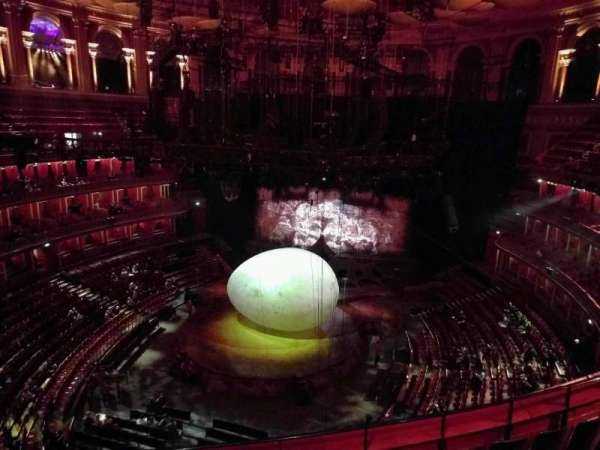 Royal Albert Hall, section: Circle U, row: 5, seat: 105