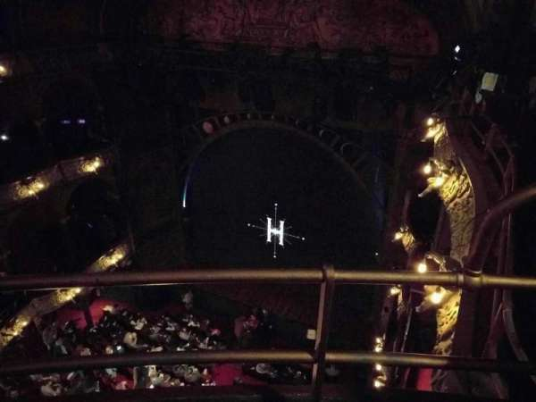 Palace Theatre (West End), section: Balcony, row: b, seat: 2