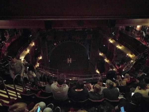Palace Theatre (West End), section: Balcony, row: j, seat: 19