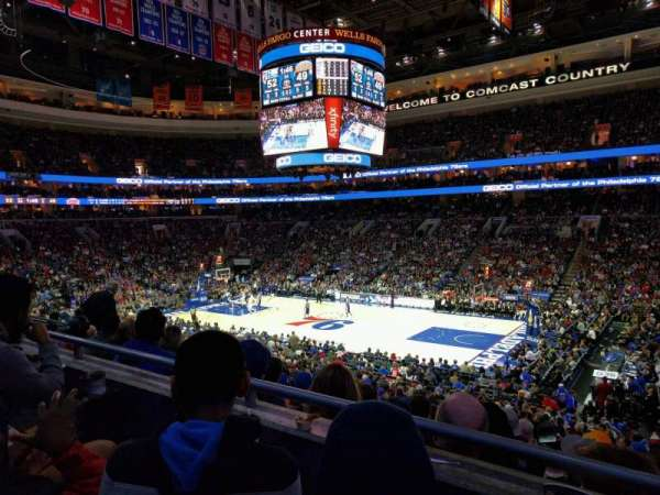 Wells Fargo Center, section: cb15, row: 2, seat: 17