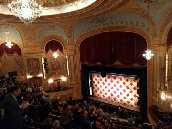 Forrest Theatre, section: Rear Mezzanine E, row: G, seat: 4