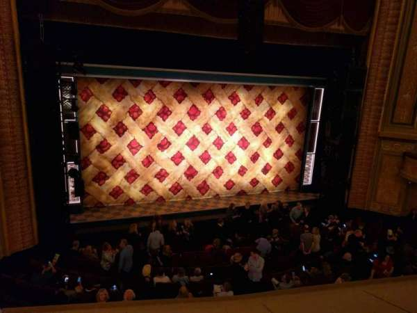Forrest Theatre, section: Front Mezzanine A, row: b, seat: 1