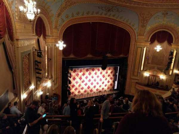 Forrest Theatre, section: Rear Mezzanine A, row: G, seat: 4